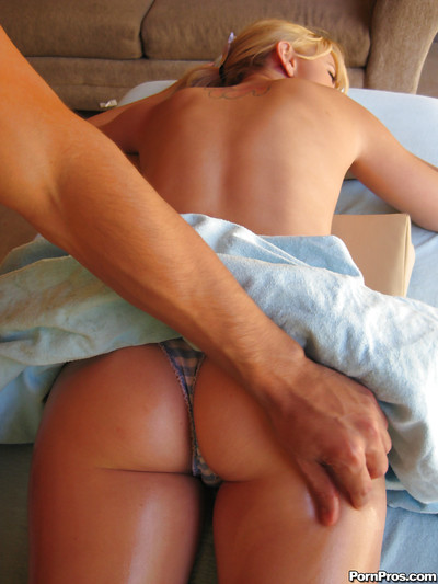 Lexi Belle erotic dance off her underclothes for massage and anus drilling
