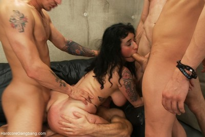 Ache arabelle raphael lives out a fuckfest dream with dp
