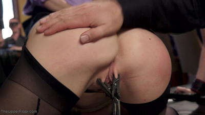 Alina is an untrained filly & cherry means to puncture her. inflexible suspension bondag