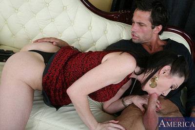 RayVeness has moist love making act with biggest shlong and younger stud.