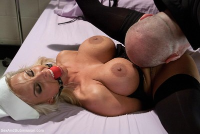 Holly halston butt drilled and dominated in bondage!