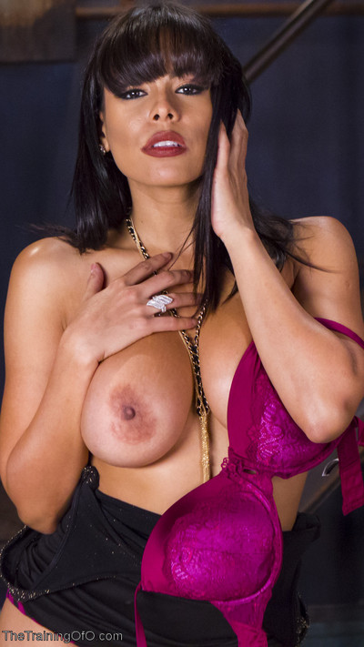 Large titted latin chico luna star made keen to a submission sexual act servant for a day!