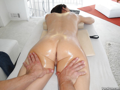 Spectacular Chanel Preston engulfing a massive jock right after massage