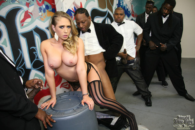 Kagney Linn Karter meets the legendary Mandingo and quite acquires torn in half