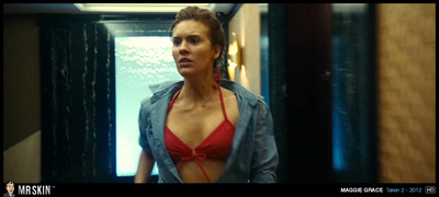 Unclothed Maggie Grace will leave u uot Lost uot for words.
