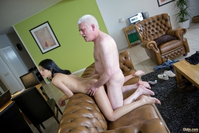 Clammy and alluring doll Lady Dee acquires easily upset, especially when her much mellow paramour doesnt imply satisfactorily attention! The solely thing that makes the stubborn infant thankful is a raw old cock, so the poor Oldje does his top to please t