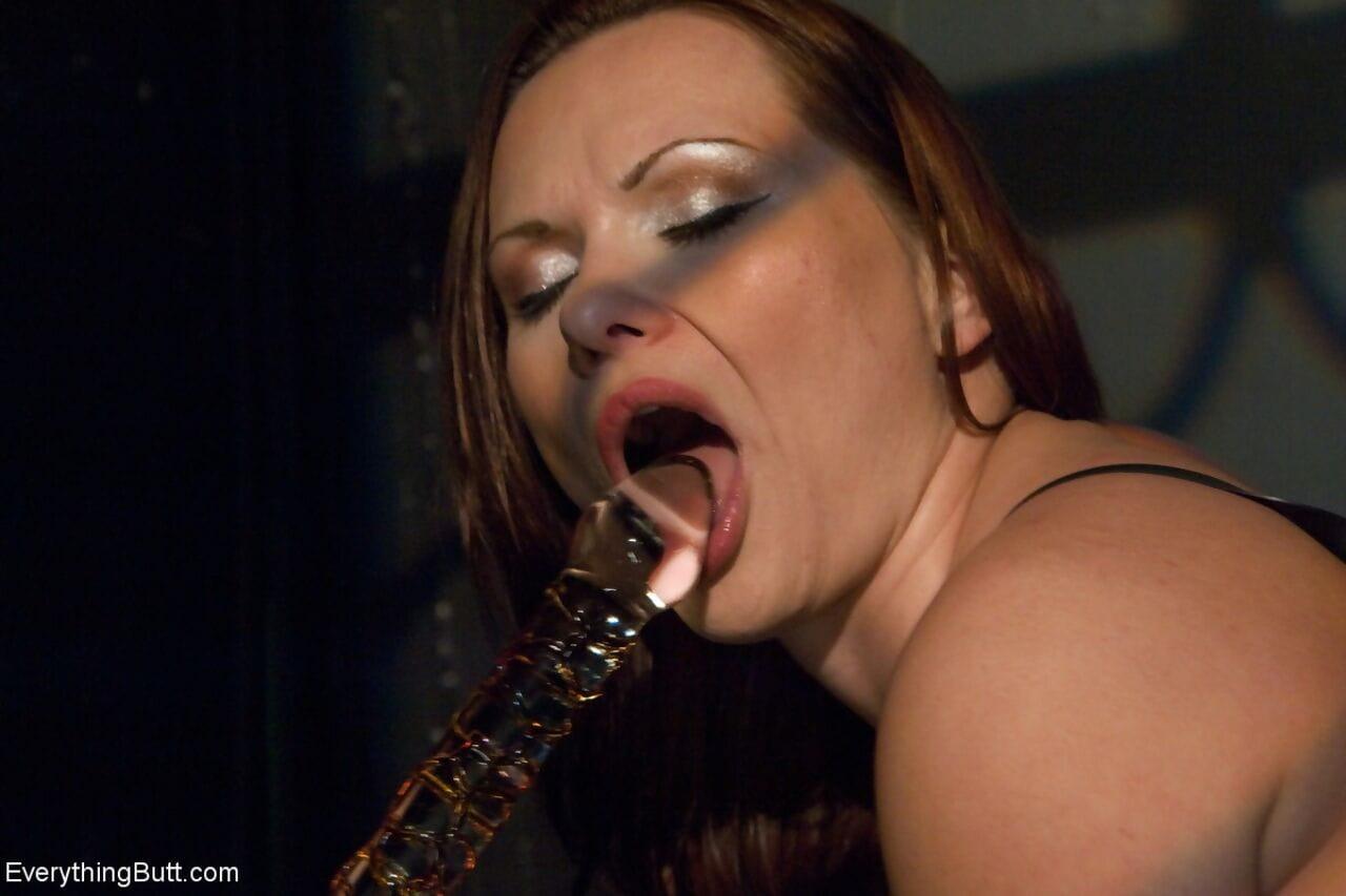 Femdom Bobbi Starr fist insertion & astonishingly appealing MILF Katja Kassins rectal hole