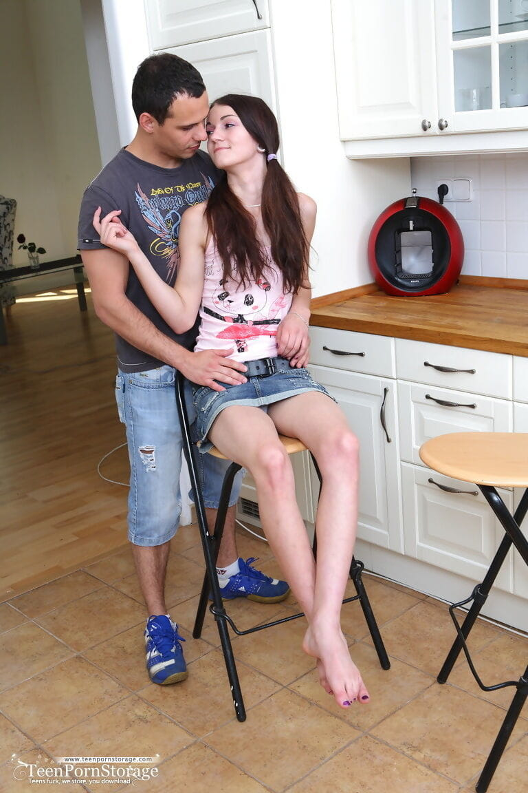 Cock juice on youthful face - part 680