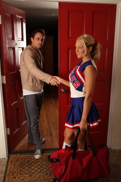 Marvelous fairy cheerleader getting screwed
