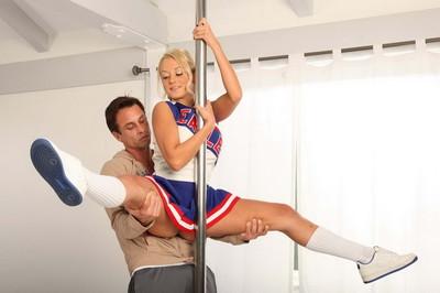 Marvelous fairy cheerleader getting screwed