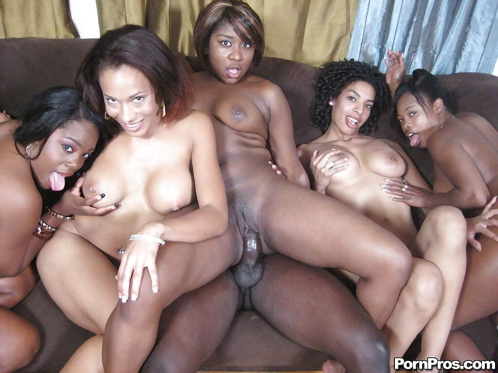 Curvy brown beauty Amile Waters having a heavy groupsex fuckfest