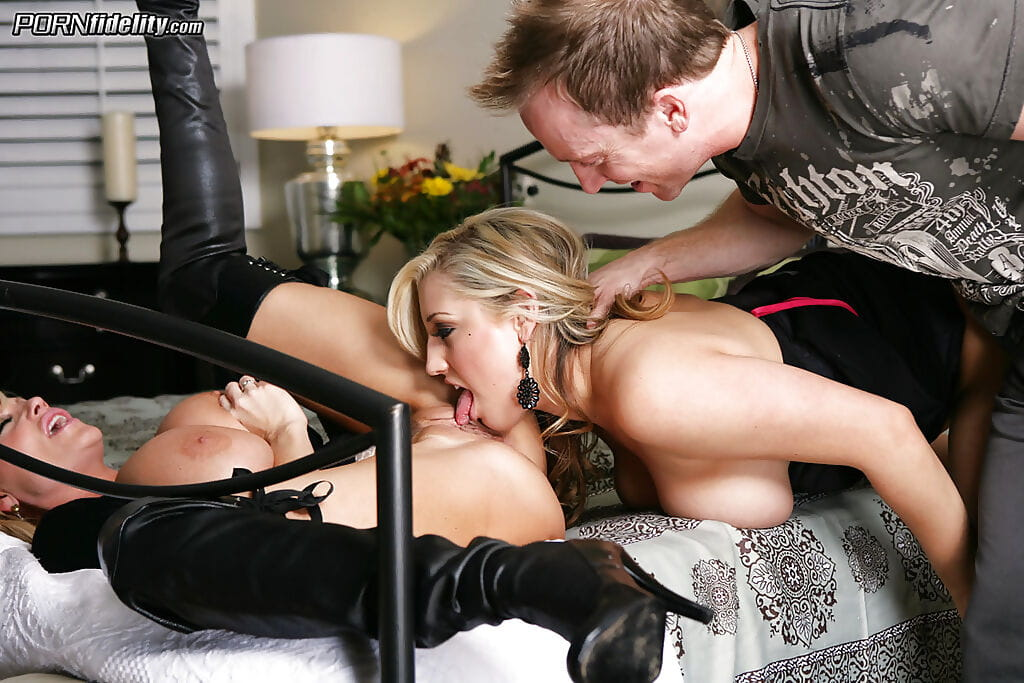 Remarkable groupsex scene with bust blondie Dayna Vendetta