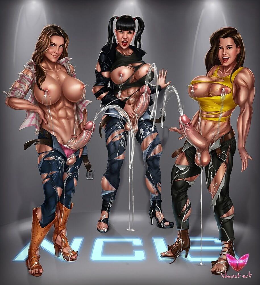 Cosplay cartoon sheboys - part 793