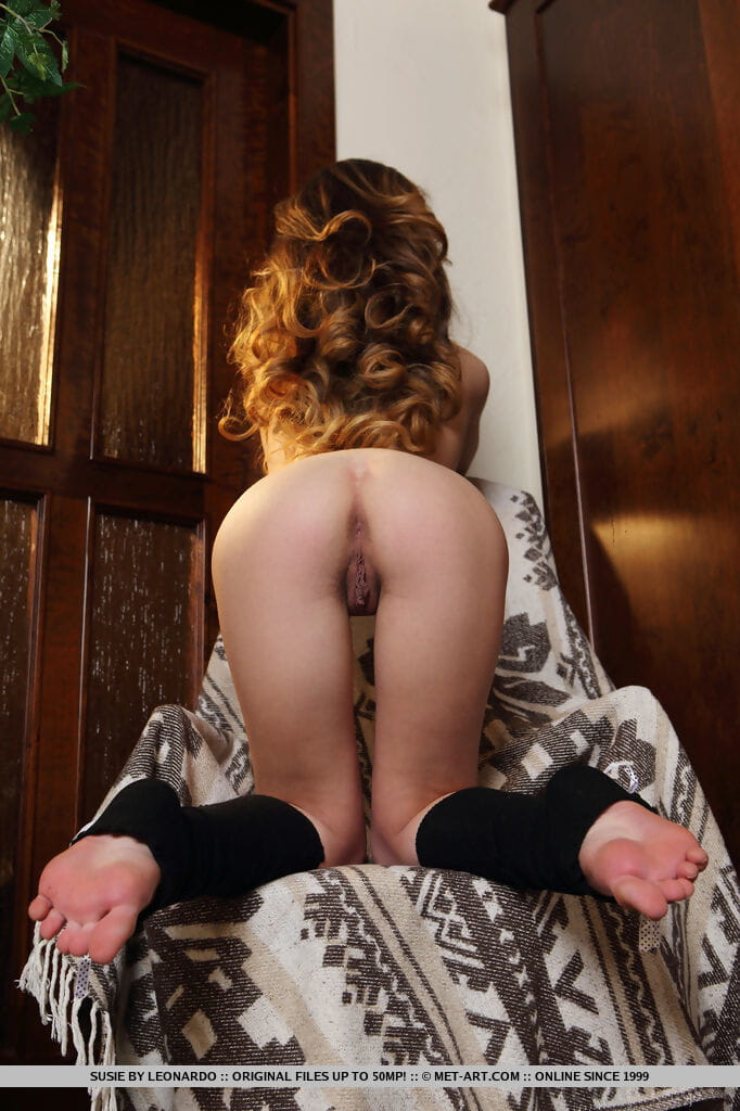 Infant redhead example Susie cannot await to show off her uncovered assets