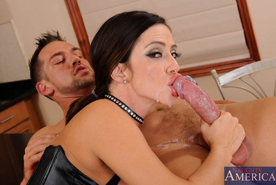 Perspired titsy Latina chicito Ariella Ferrera is applying for a female servant concealed collaborator position for Johnny and his wife. Unfortunately, this chick didnt bring any of her references with her, but this chick extremely hungers after the job.