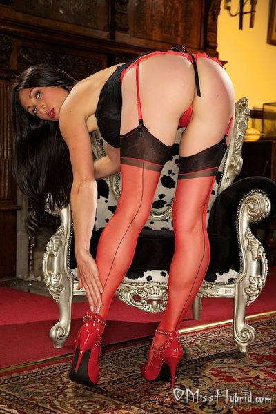 I love the taste of my absolutely fashioned nylons.