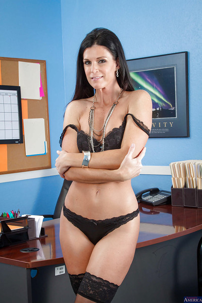 Slim educator India Summer is punishment her rigid uterus on camera