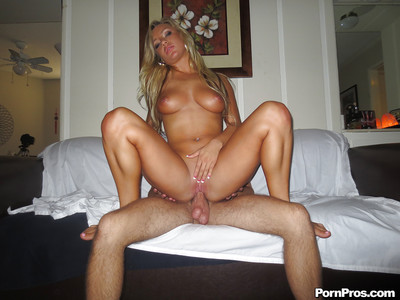 Cameron Dee acquires her shaved cooter glazed with cock juice right after hardcore porking