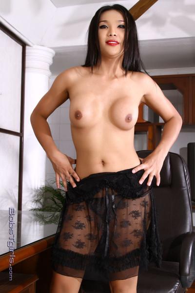 Lady-boy fanta stripped