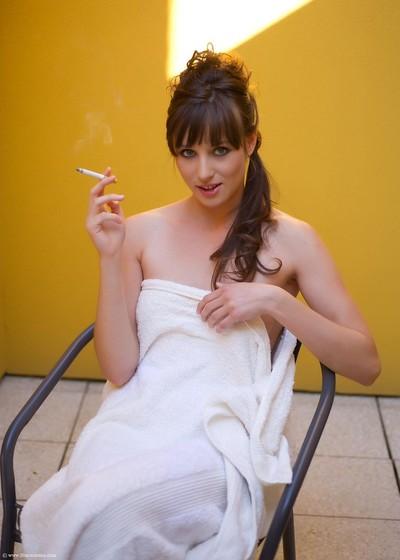 Untamed darling nolita sweaty smokin
