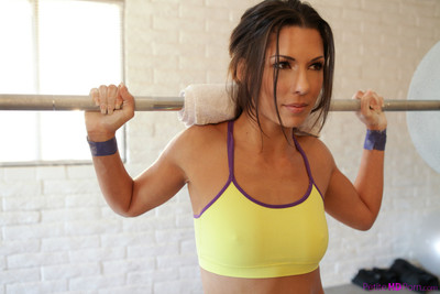 Alexa tomas penetrated exactly after a workout
