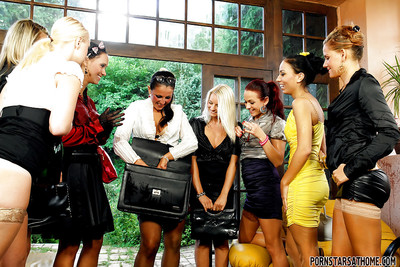 Fucking clammy perfectly dressed lesbos going avid at the address all together
