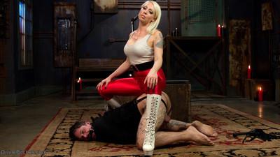 An hour with femdom-goddess lorelei lee will make u a huger man. ryan patrix learns