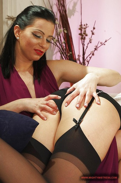 Submissive and horny blonde has a passionate female-on-female act of love with her mistress