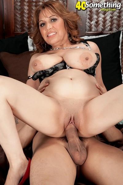 Mature latina household slave fucked heavy