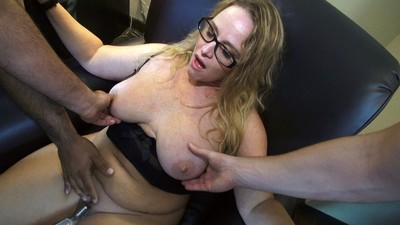 Cock cream on my married tits
