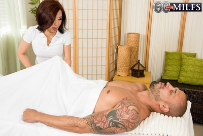 The art of asian phallus massage made by full-grown kim anh