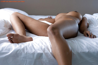 Indian babe Kiki makes known her big natural tits and furry pussy