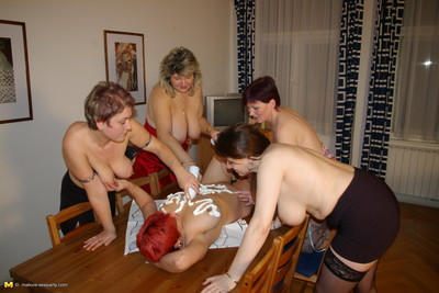 Seasoned orgy party pictures