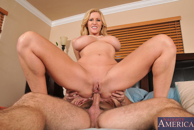 Sexy hot went in cougar fucks and has hot anal act of love with big cock.