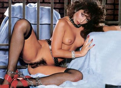Vintage pornstar with hairy vagina