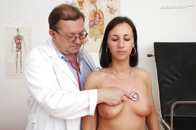 Elegant snoutfair appealing woman Terra Nice-looking gets medical treatment