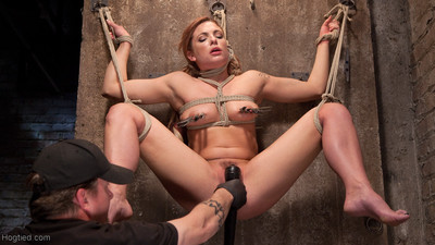 Dahlia is made to endure the most brutal bondage, grueling torment, and then cum