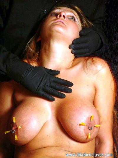 Mature needle bdsm and busty ginas piercing