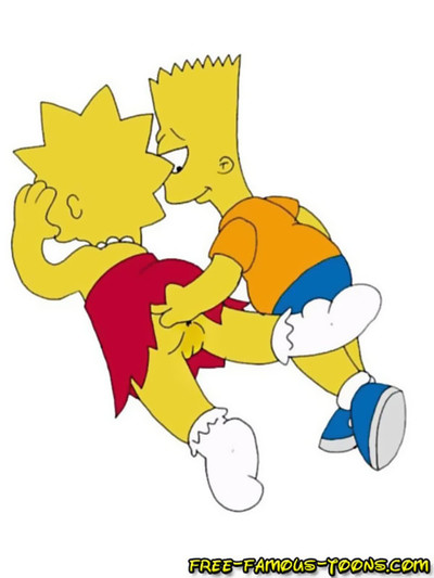Bart and lisa simpsons famous sketch sex