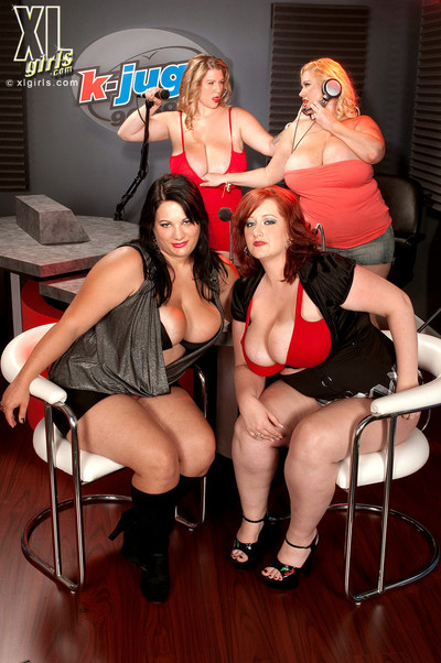 Bbw porn orgy in public radio room
