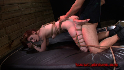 My master ceases to surprise me. this session i woke up on a bare bed, ropes hug