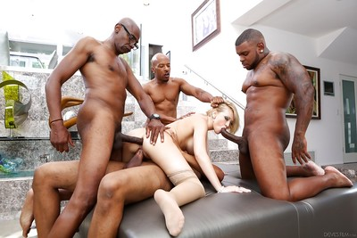 Kagney Lynn Karter love to feel massive swarthy dicks in her holes