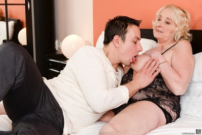 Sila is big, breasty and what every man craving an older woman wants: not afraid t