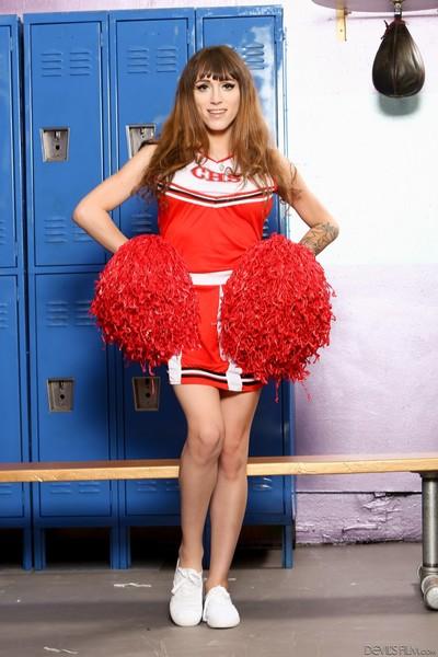 Transsexual cheerleaders #16, scene #01