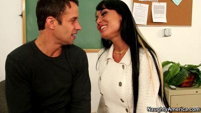 Mentor mahina zaltana banged intense by her student