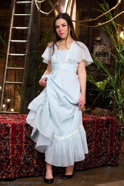 Juliette march stars as wendy in this peter pan gang-bang parody!! one night, pe