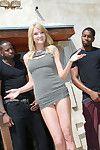 Hot interracial two men plus one female sex