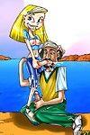 Famous futa caricatures