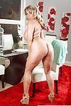 Cougar Milf Amber Lynn Bach unleashing her massively vast scones