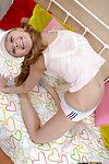 Fabulous and creative amateur babe is very flexible and stretchy